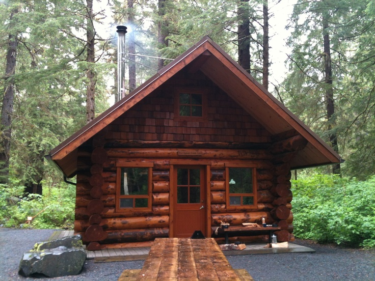 Starrigavan Creek Cabin on the Tongass National Forest just outside Sitka, Alaska @TongassNF