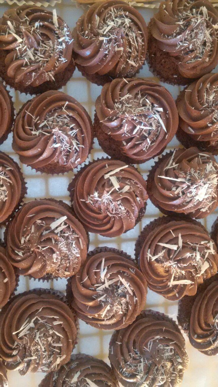 Chocolate cupcakes....