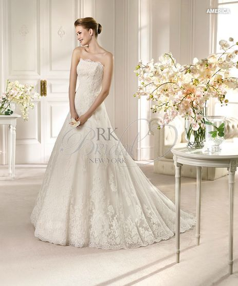 Trendy Discover the San Patrick America Bridal Gown Find exceptional San Patrick Bridal Gowns at The Wedding Shoppe