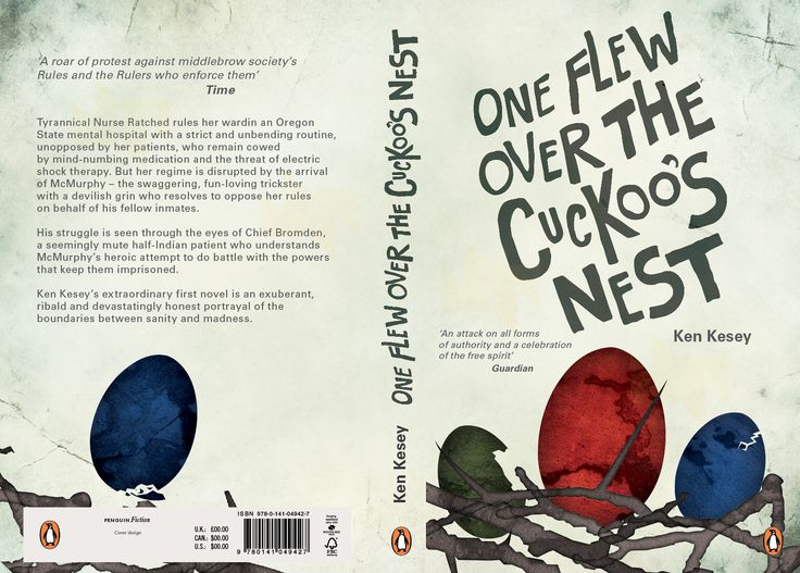 Penguin Book Cover Size : One flew over the coukoo s nest penguin by