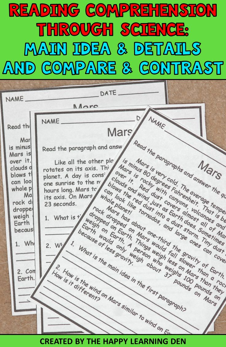 These Informational Text Worksheets Are Perfect For Your Students To Practice Identifying Ma Reading Comprehension Passages Reading Comprehension Cloze Reading [ 1128 x 736 Pixel ]