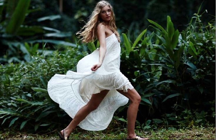 I love born to be wild elsa hosk model photography