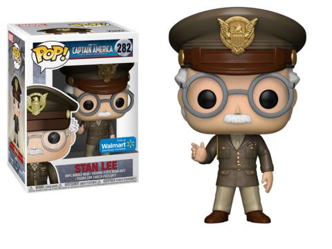 Stan Lee Captain America: The First Avenger Walmart exclusive Funko POP! Vinyl