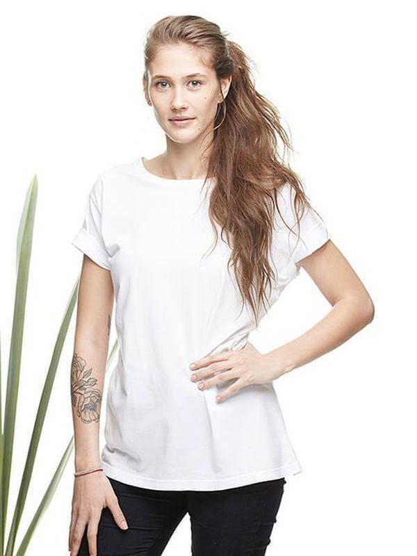 T-Shirt 002 Basic White - T-Shirt em algodão.  Gola redonda.  100% algodão.