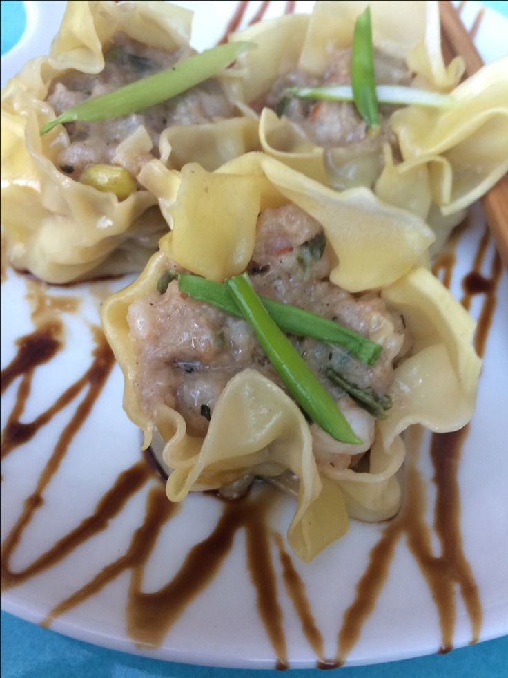 This could be the easiest dim sum recipe ever. and so yummy. took me no time at all to make it.