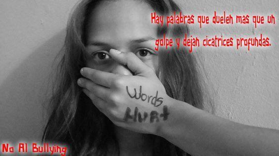 El acoso verbal es tambien Bullying, muchas veces las palabras mas que un golpe y hasta dejan cicatrices profundas dificiles de sanar.  Detener el acoso escolar esta en nuestras manos, juntos podemos hacer la diferencia. Deten el Bullying ahora!!! #wordhurts #detenelbullyingahora #nomasbullying #laspalabrashieren #zonalibredeviolencia