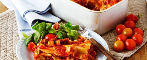 DAGENS RETT: Slik lager du lasagne på et øyeblikkk - Aperitif.no