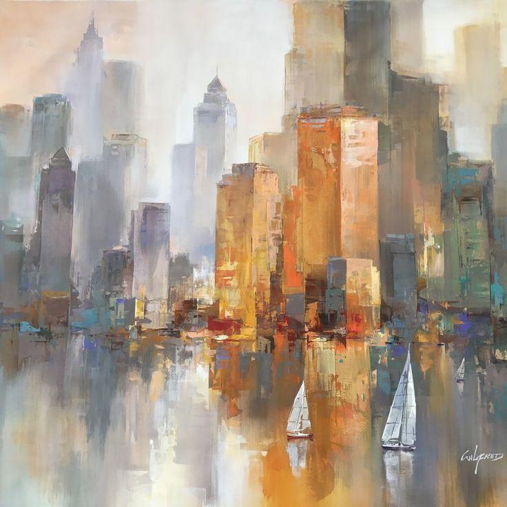 Les 25 meilleures idées de la catégorie Peinture de new york sur ...