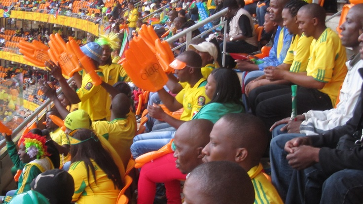 Soccer City supporters, Soweto