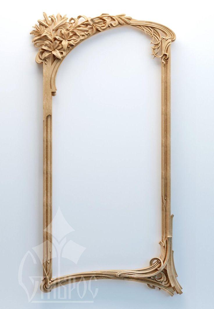 Резная рама в стиле Модерн RM-018