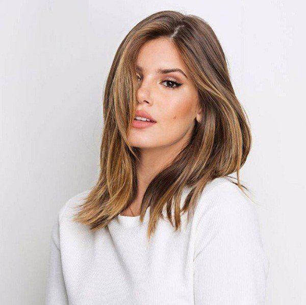 Camila Queiroz, cabelo, longo bob, corte de cabelo, beleza, beauty, hair, hairstyle