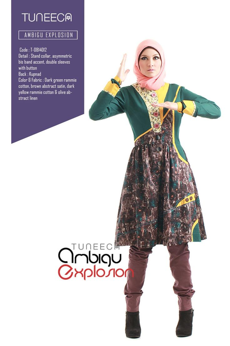 The Crossings Imagination by Tuneeca  #tuneeca #muslimwear #hijab #fashion #casualwear