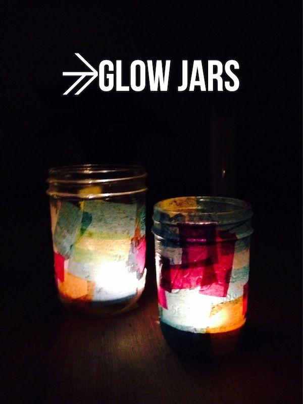 Highlighter Light Jar Craft