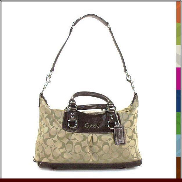 COACH Poppy Multi-Function Leather Travel Career Tote Bag Purse NWT #Coach #SatchelToteShopperCrossBody