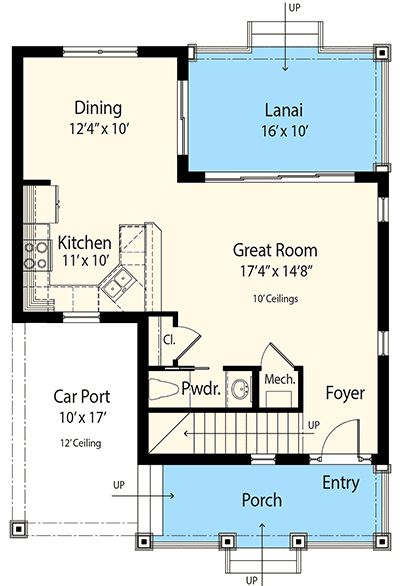 Plan 33156zr Net Zero Ready 3 Bed Cottage House Plan