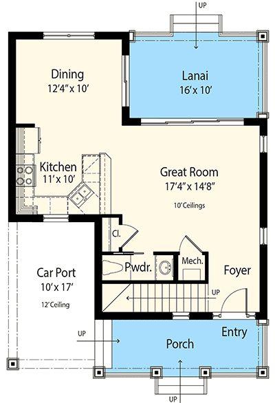Plan 33156zr Net Zero Ready 3 Bed Cottage House Plan