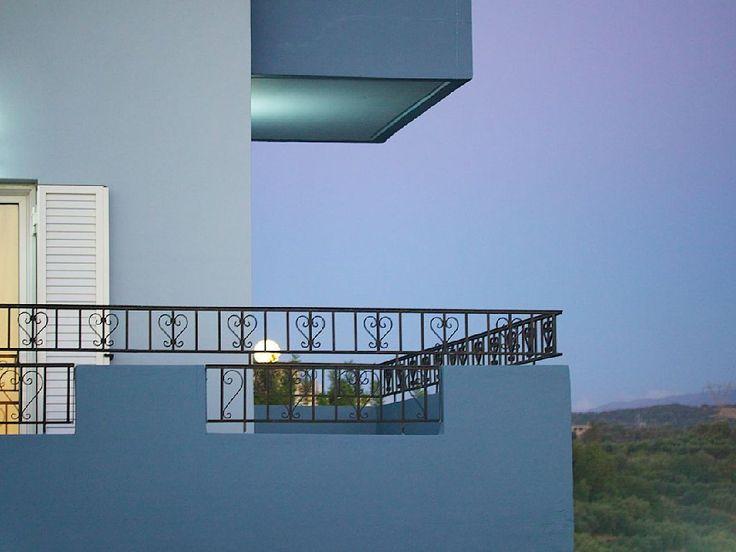 Rethymno villa rental - Great views from the balcony!