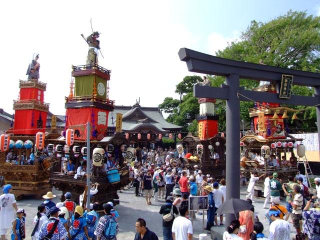 辻堂諏訪神社例大祭