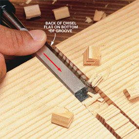 How to Use a Wood Chisel - Step by Step | The Family Handyman