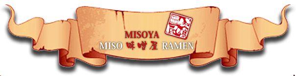 Ramen Misoya - Traditional Japanese diet.