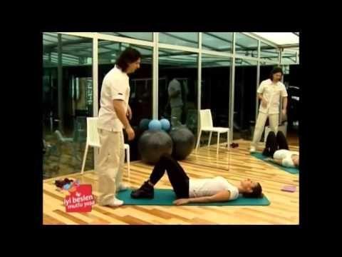 Basen Eritme Egzersizleri-Kalça İnceltmek Selülit İnceltmek İçin Zayıfla...