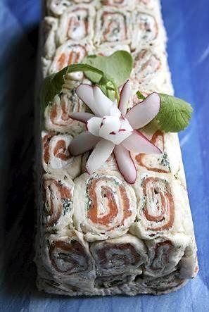 Kesän maku - voileipäkakku