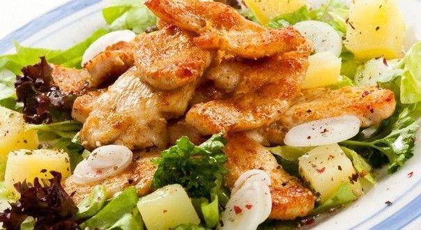 Этот нарядный овощной салатик станет изящным украшением обеденного стола. Лакомиться им в летний ден...