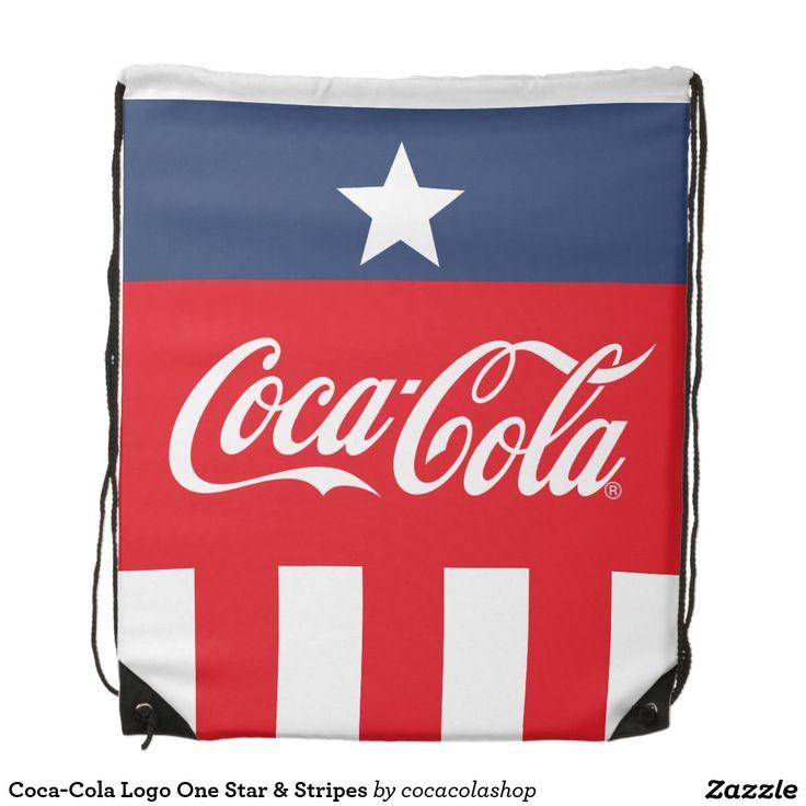 Coca-Cola Logo One Star & Stripes #gift  #Christmas  #Coke #Coca-Cola #accessories #merchandise #him #her #kids