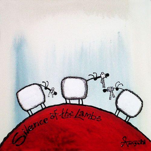 """Silence of the Lambs"" by Ann Gadd"
