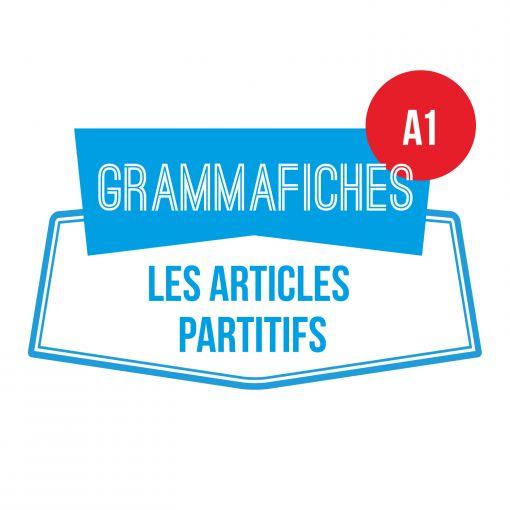 GRAMMAFICHE A1: les articles partitifs
