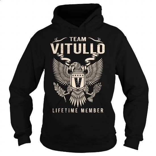 Team VITULLO Lifetime Member - Last Name, Surname T-Shirt - #graduation gift…  https://www.birthdays.durban
