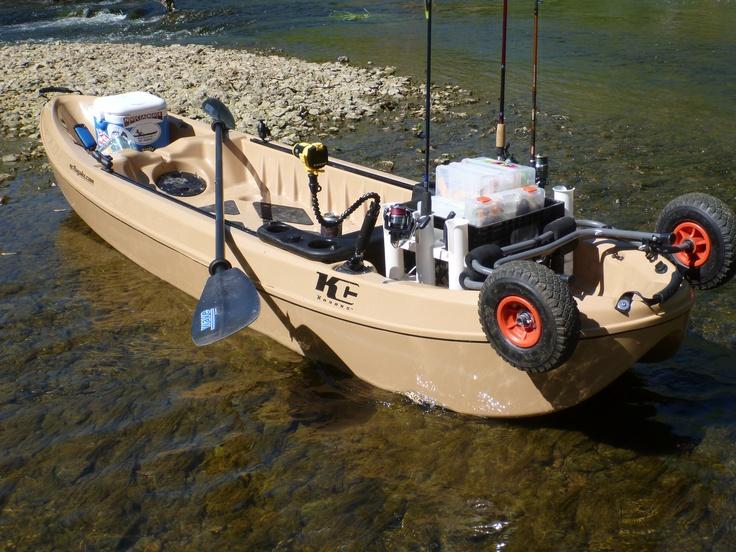 Kayak fishing Floyds Fork