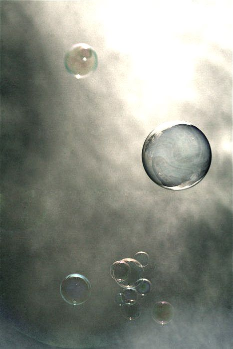 Grey Bubbles