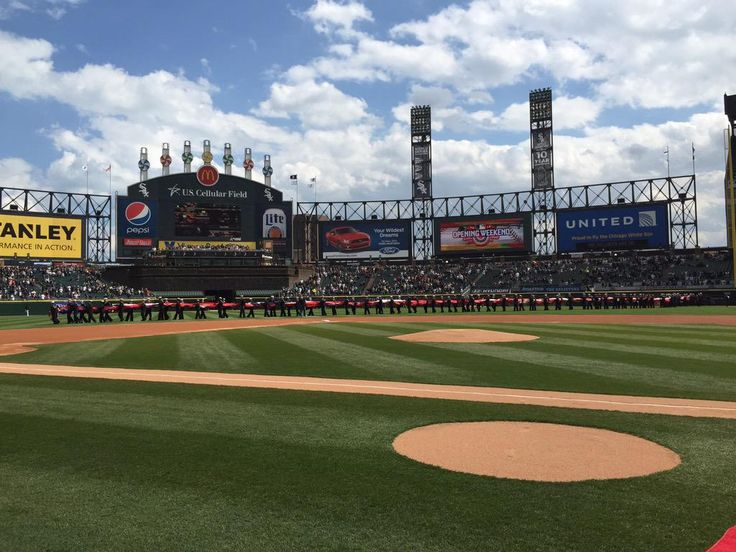 Chicago White Sox Opening Day at US Cellular Field on April 10, 2015