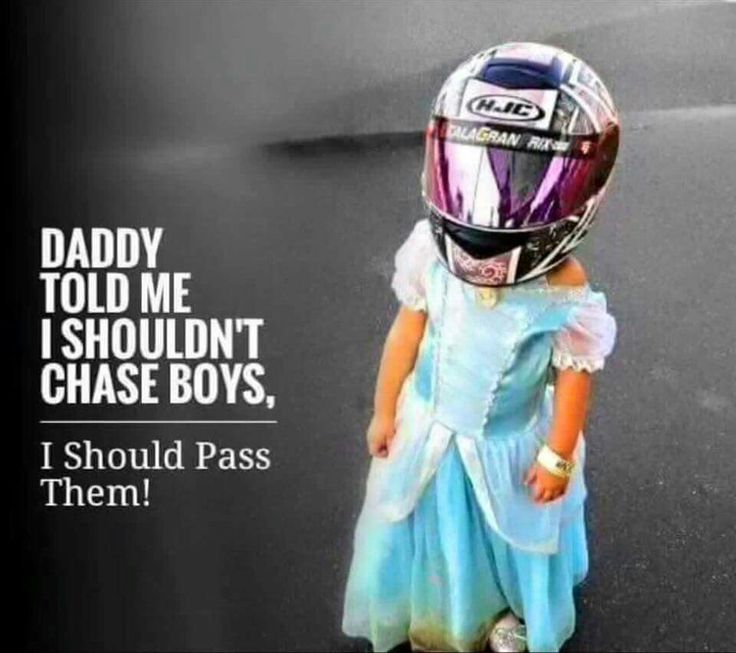Moto girls - start em young!