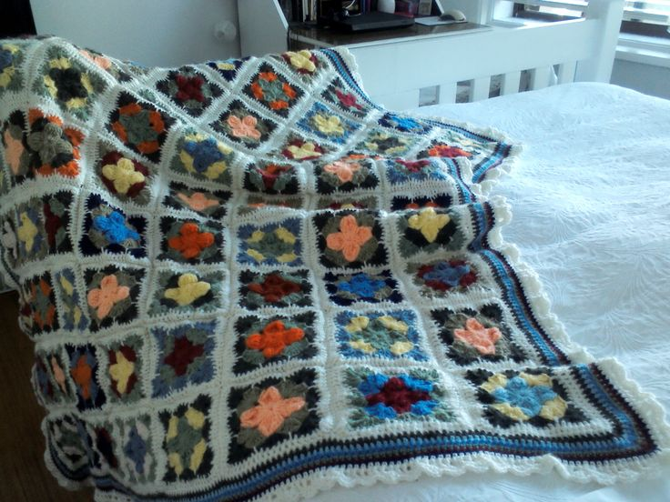 This was quite a big project, all made in treble crochet!!!