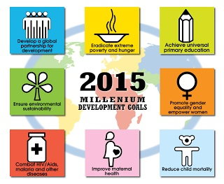 The Millennium Development Goals represent an agreed agenda for both developed and developing countries, working together to reduce poverty and advance human development. (One Just World forum, Melbourne, March 2013)