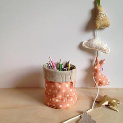 Reversible Baskets // Rose Vintage