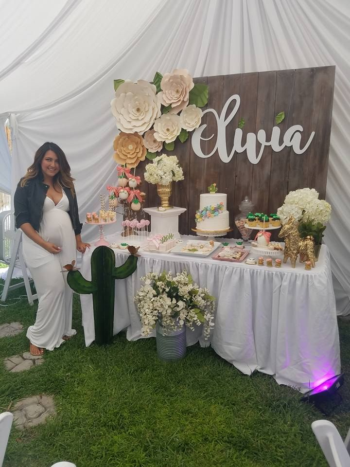 Pin By Glam Spot Events On Mexican Boho Baby Shower Baby