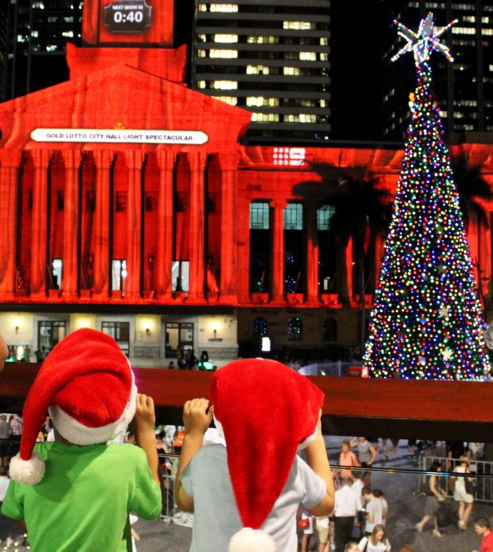 Christmas in Brisbane City Where is it: Queen Street Mall and King George Square, Brisbane City   What's it all about: The heart of Brisbane is gearing up for Christmas shopping and celebrations!              How can I join in: There's lots to see and do in the City leading up to C