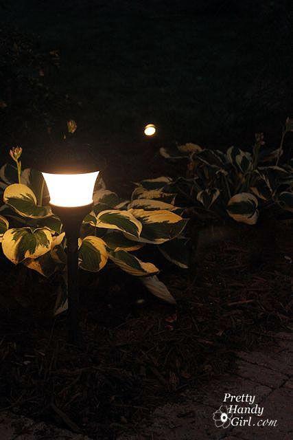 DIY Install Low Voltage Landscape Lights. Outdoor Path LightingLandscape  LightingLighting IdeasHammer DrillOutdoor ProjectsOutdoor ...