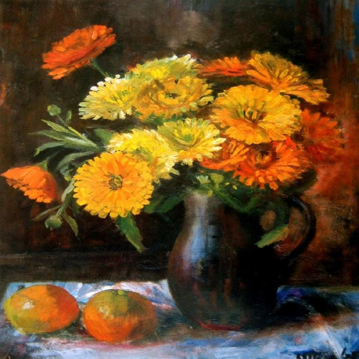 Still Life with Oranges - Margaret Olly ...