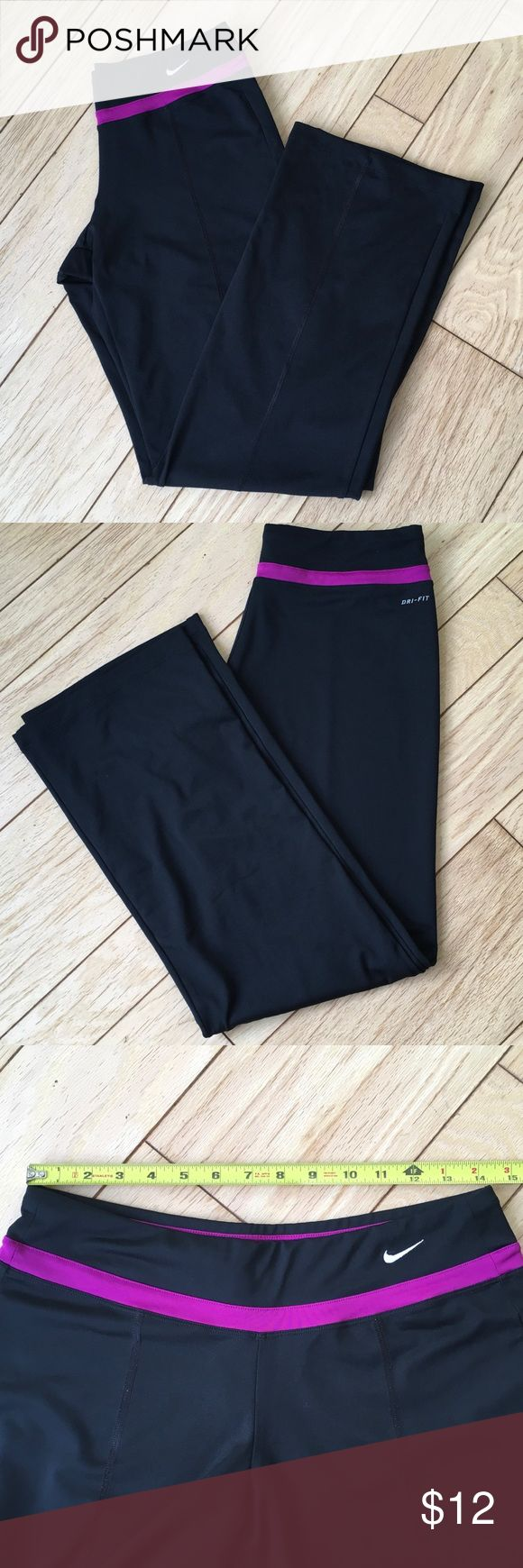 Nike Dri-Fit Running Pants Gently worn but still in good condition. Non smoker home and I give bundle discounts! Nike Pants Track Pants & Joggers