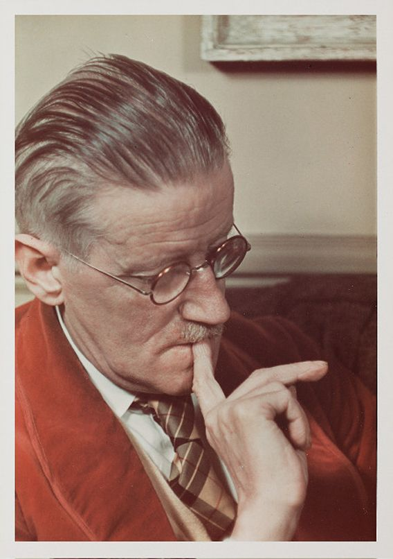 James Joyce, Paris, 1939 Colour dye transfer print © Gisèle Freund / Freund Family Collection