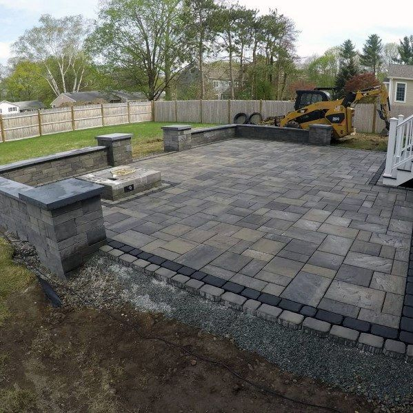 Top 60 Best Paver Patio Ideas Backyard Dreamscape Designs In 2020 Patio Pavers Design Backyard Landscaping Designs Outdoor Patio Pavers
