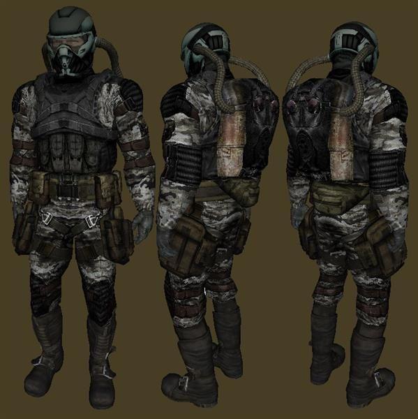 Костюмы групировки свобода из игры stalker тени чернобыля
