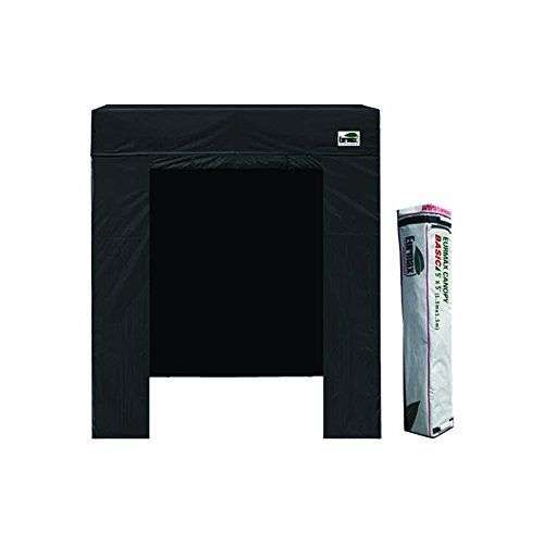 eurmax photo booth 5x5 ez pop up canopy outdoors sport shelter fair party tent with enclosure