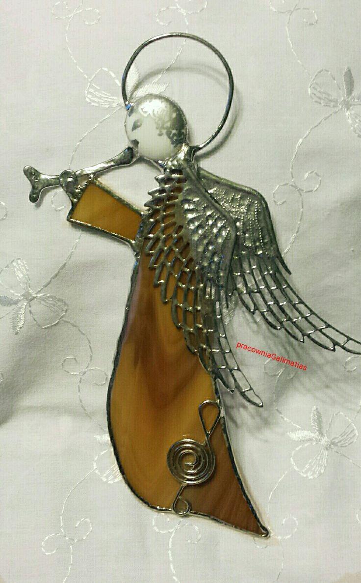Angel  stainedglass