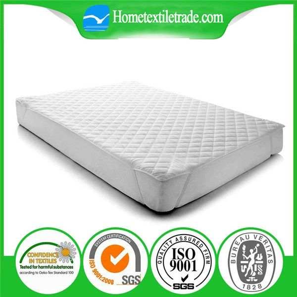 waterproof terry fabric bed bug baby cots adult size cotton mattress protector 5 sided best selling