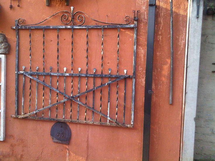 Old farm gates ...